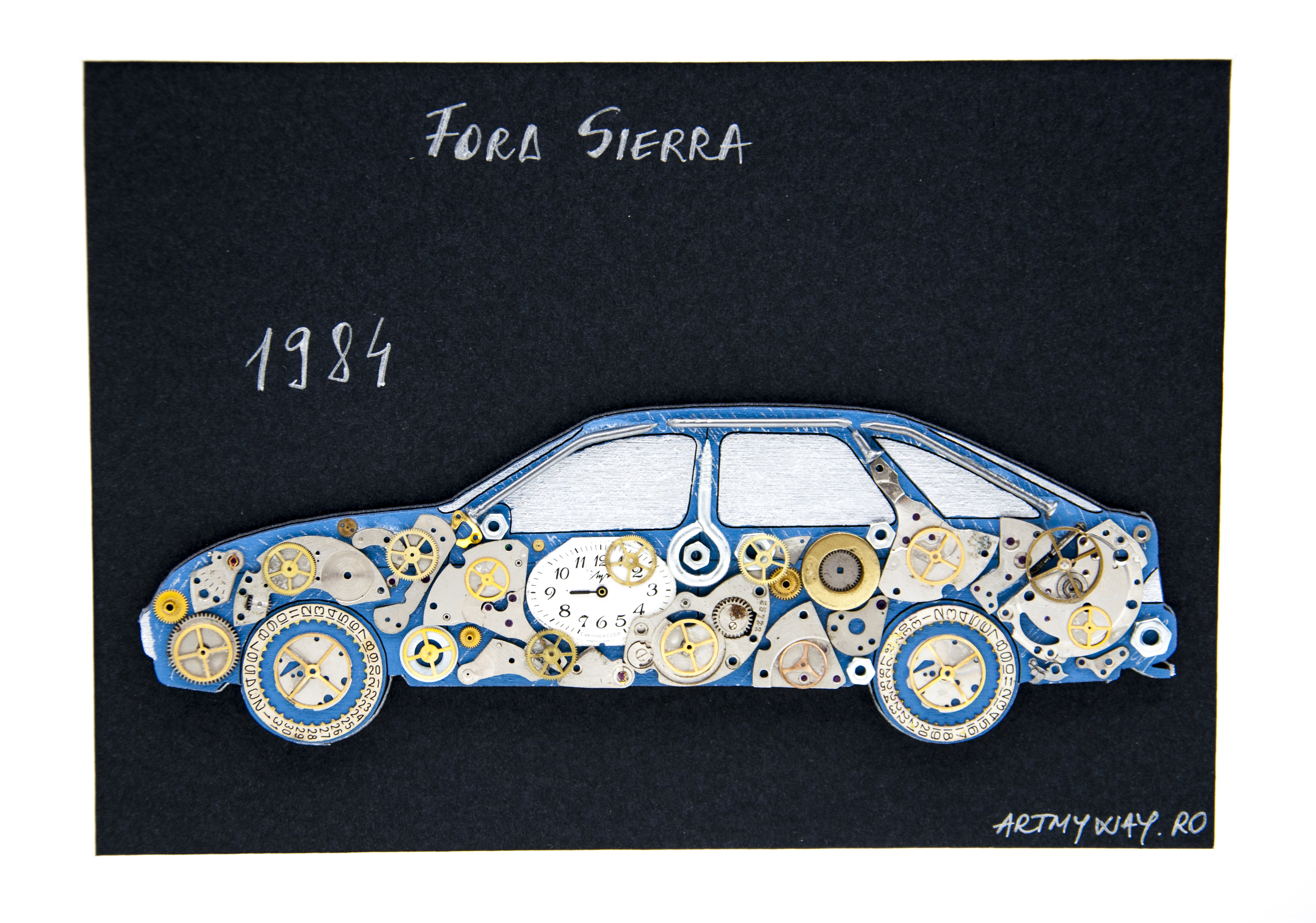 Tablou Ford Sierra 1984 3