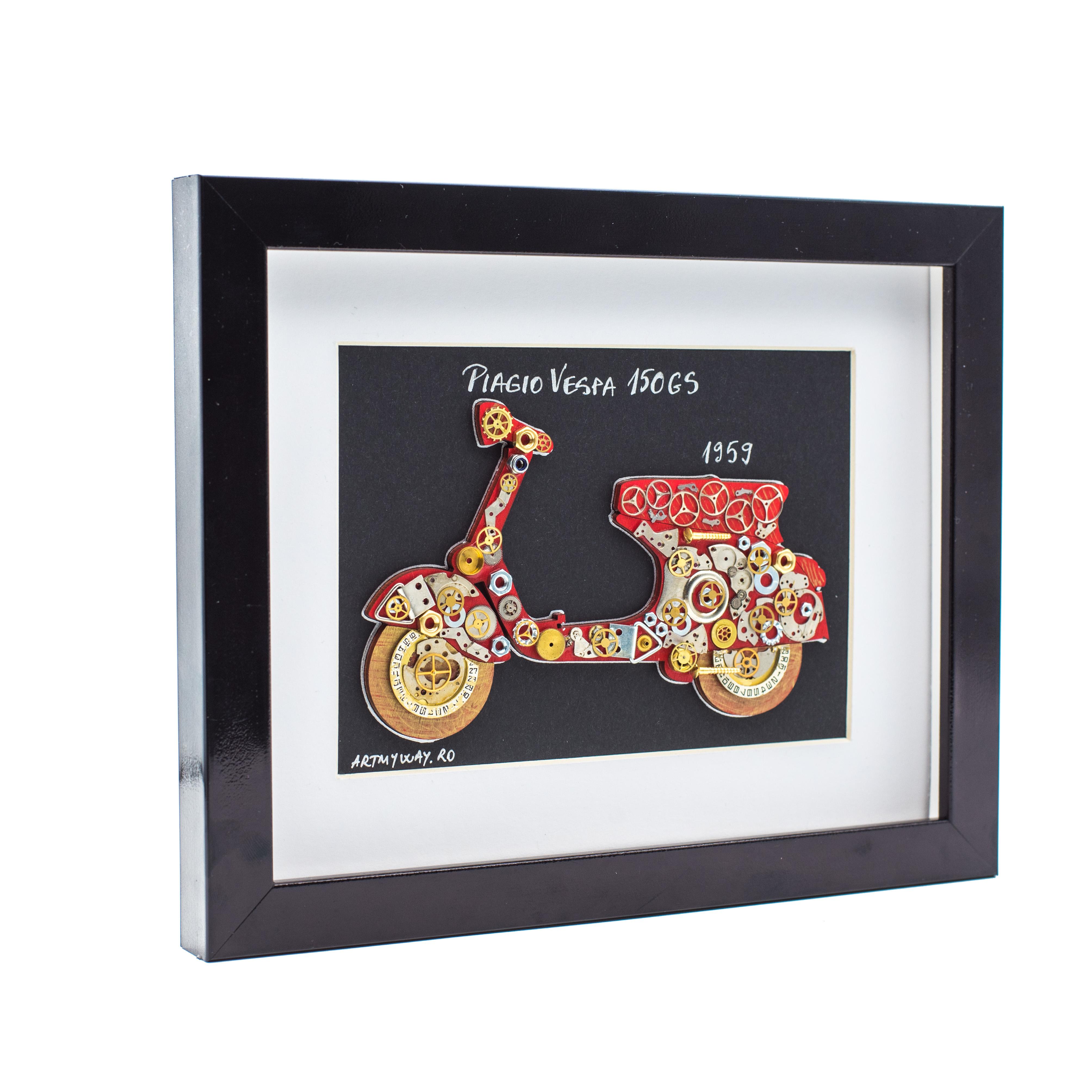 Tablou Piagio VESPA 150GS - Colectia Born to Ride 2