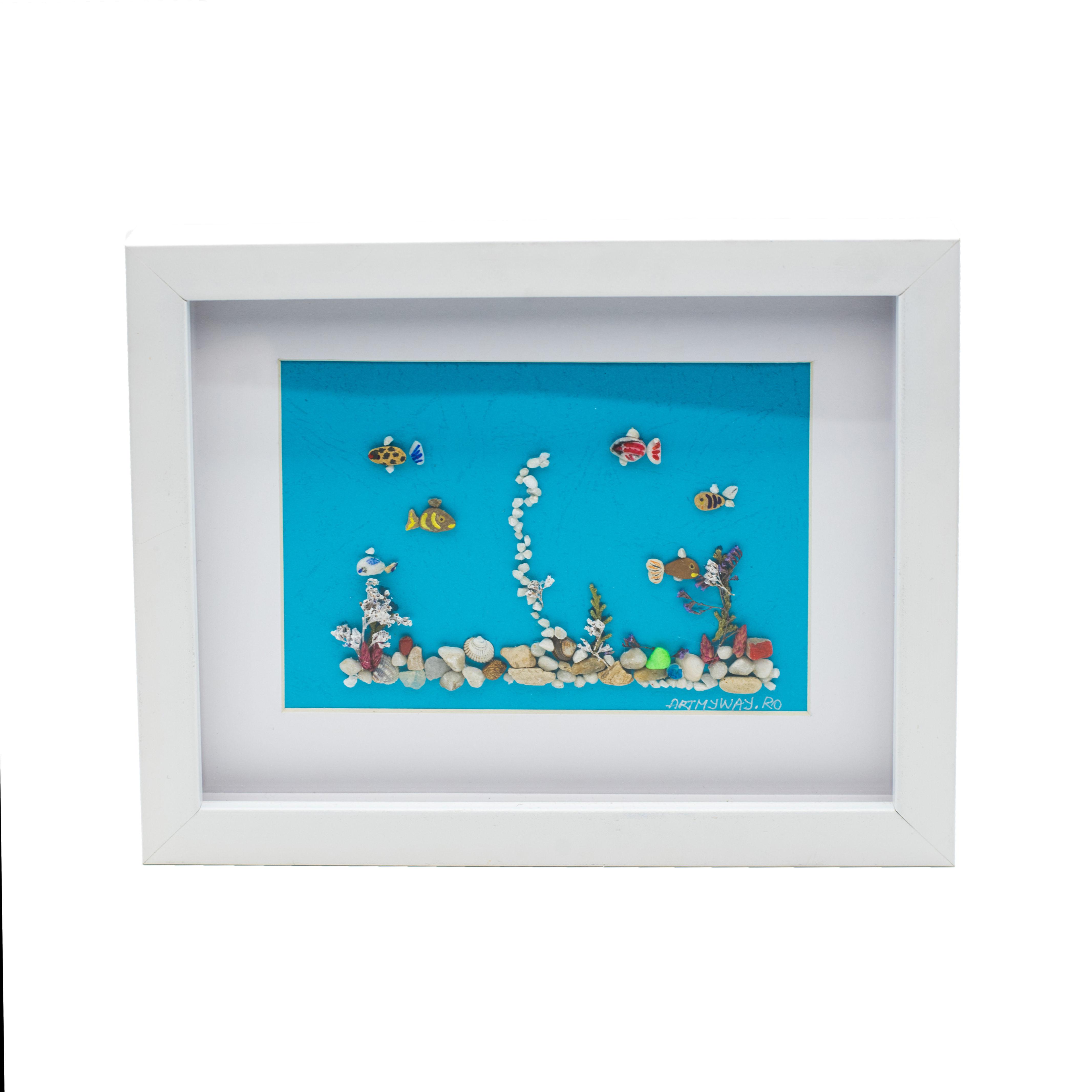 Tablou Aquarium - Colectia Pebble Art 1